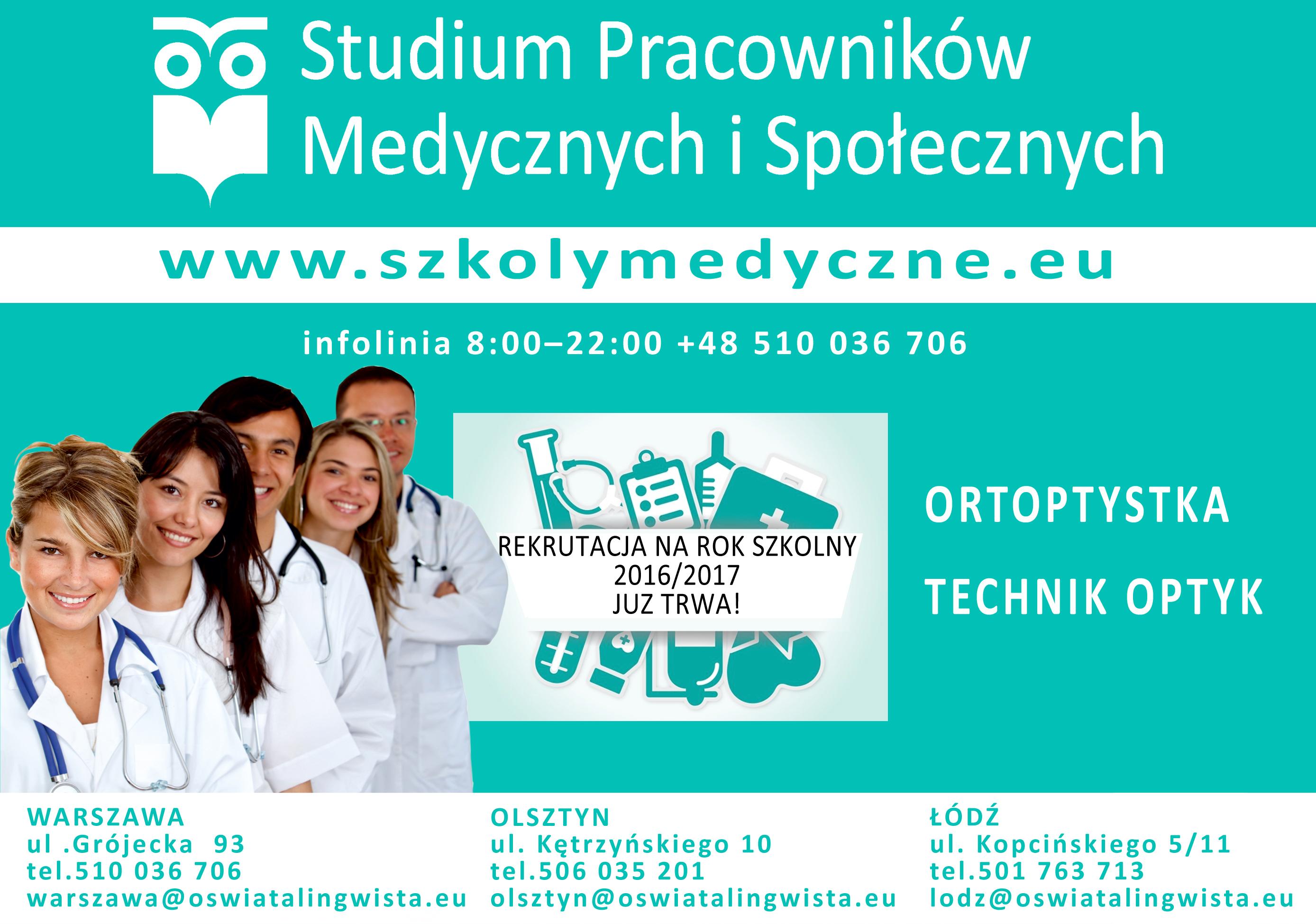 ortoptystka reklama